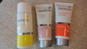 エンビロンの基礎化粧品